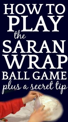 The Saran Wrap ball game (cling wrap ball) is one of the most fun holiday games or any time of year. Here are: game rules, prizes to fill it with, and a SECRET TIP that no one else is talking about! Xmas Games, Christmas Gift Exchange, Christmas Games For Kids, Family Fun Games, Holiday Games, Christmas Party Games, Christmas Activities, Christmas Traditions, Holiday Fun