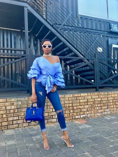 Bonang Matheba is one of South Africa's top female media personality and most talked about fashionista from the country. Fall Fashion Outfits, Denim Fashion, Summer Outfits, Fashion Trends, Business Casual Outfits, Classy Outfits, Chic Outfits, Black Women Fashion, Womens Fashion