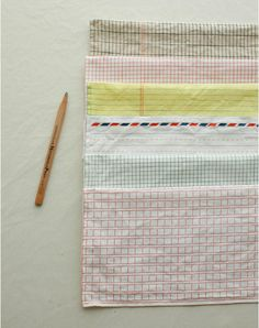Simple note pad series linen 6in1, $18.90
