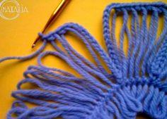Flores con Telar de Horquilla Tutorial - Patrones Crochet