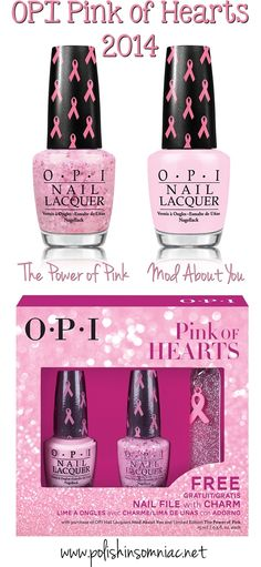OPI Pink of Hearts for 2014
