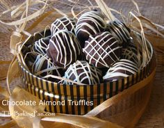 Chocolate Almond Truffles & Other Candy Recipes