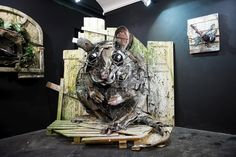 After a mandatory December stop in Miami, Bordalo II flew to Italy to prepare his solo show with Square23 gallery in Torino. In addition to new studio...