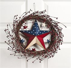 Forth of July wreath