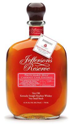 Jefferson's Reserve Pritchard Hill Cabernet Cask Finish Bourbon