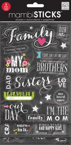 Chalkboard Value Pack - Family