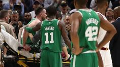 New Boston Celtics star forward Gordon Hayward fractured his left ankle when he was bumped in the air by LeBron James and fell with his...
