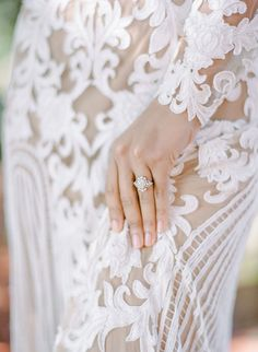 3 Ways to Make Your Engagement Ring Sparkle | Photography: Rebecca Yale - http://rebeccayalephotography.com/