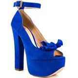 038b7e1ff946 Luichiny s Blue Van Essa - Cobalt Suede for 89.99 direct from heels.com