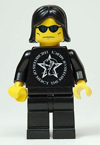 Andrew Eldritch - The Sisters Of Mercy #Lego, #Music