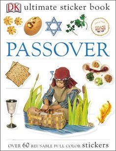 Ultimate Sticker Book (Passover): every purchase supports charity.