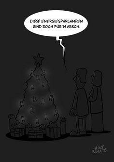 Manchmal ist Weihnachten so absurd, dass man laut loslachen möchte. Wir helfen nach, mit komischen (und auch etwas bösen) Cartoons. Fröhliches Fest!