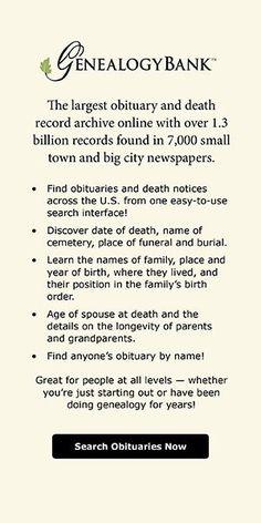 USA Cemetery Records | Genealogy