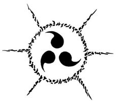 """I have a feeling I'm going to end up getting more than one tattoo..this is another one from Naruto, called a """"curse mark"""""""