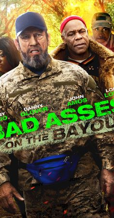 Danny Glover, Danny Trejo, John Amos, and Loni Love in Bad Asses on the Bayou 2015 Movies, All Movies, Latest Movies, Movies To Watch, Movies Online, Movies And Tv Shows, Movie Tv, Danny Glover, Action Film