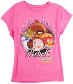 Angry Birds Star Wars Rebels TShirt