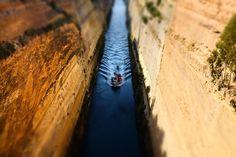Der Kanal von Korinth Olympia, Country Roads, Greek Gods, Athens, Travel Report, Round Trip, Greece, Landscape, Vacation