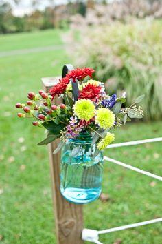 Country Farm Barn Style Wedding - Rustic Wedding Chic