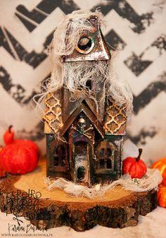 Retro Kraft Shop: Upiorny domek / Spooky house