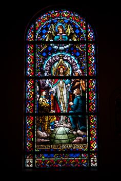 church stainglass | St. Joseph's Catholic Church: Stained Glass Windows Tour