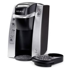 @Overstock.com - Keurig B130 Commercial DeskPro Gourmet Single-Cup Brewing System - Create perfect beverages one at a time with this Keurig B130 DeskPro coffee maker. Simply fill the reservoir and add your favorite K-cup coffee, tea, or cocoa, and in under three minutes, you'll be enjoying a steaming-hot eight-ounce beverage.  http://www.overstock.com/Home-Garden/Keurig-B130-Commercial-DeskPro-Gourmet-Single-Cup-Brewing-System/6420928/product.html?CID=214117 $77.99