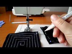 Öltésről-öltésre varrótanfolyam-06. Gyakorló feladat - YouTube Needlework, Sewing Projects, Zip Around Wallet, Youtube, Crafts, Farmer, Owls, Tips And Tricks, Creative