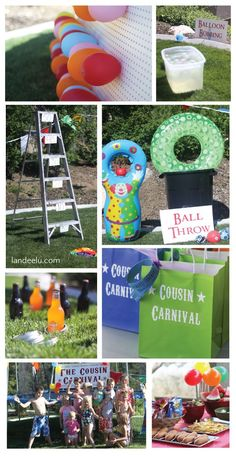 Best Ideas DIY and Crafts Inspiration : Illustration Description Cousin Carnival Party Idea: So many fun DIY games you can make out of what you have around the house! via Landeelu -Read More –… Marshmallow Shooter, Games For Kids, Diy For Kids, Crafts For Kids, Cool Diy, Fun Diy, Party Activities, Summer Activities, Mardi Gras