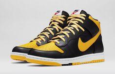 "Nike Dunk High CMFT ""University Gold"""