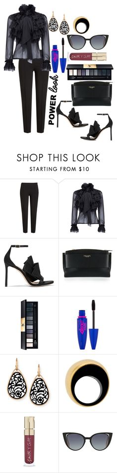 """""""Untitled #640"""" by mamatoodie-1 ❤ liked on Polyvore featuring Boutique Moschino, WithChic, Jimmy Choo, Henri Bendel, Yves Saint Laurent, Maybelline, Pomellato, Vhernier and Fendi"""