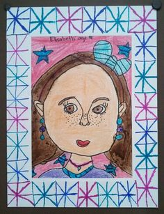 Self Portrait - 2nd Grade