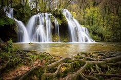 Summer Cascades Waterfalls - Canvas Art Print - Canvas Art Plus Landscape Photos, Landscape Photography, Nature Photography, Color Photography, Amazing Photography, Landscape Design, Beautiful Waterfalls, Beautiful Landscapes, Photo Pose Longue