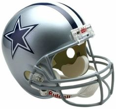 NFL Dallas Cowboys Deluxe Replica Football Helmet by Riddell.  83.99.  Authorized replica team decal 3d97366c9