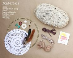 Dreamcatcher DIY, if only I could make these