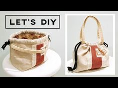 DIY Drawstring bag | Perfect For Beginners | 初学者学习 |束口袋制作 Step By Step DIY TUTORIAL❤❤ - YouTube