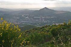Vistas de Montcada i Reixac desde el Puig Castellar.