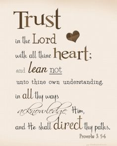 Trust in the Lord... by ivethpuon