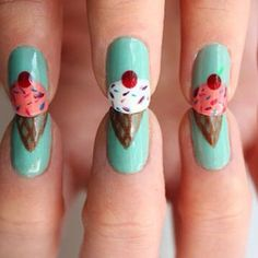 And desserts: | 26 Incredibly Detailed Nail Art Designs