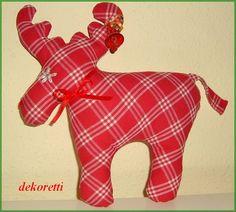 Bald ist es wieder so weit. Weihnachten steht vor der Tür und man   kann sich die Wartezeit mit kleinen Nähereien verkürzen.   Vielleic...