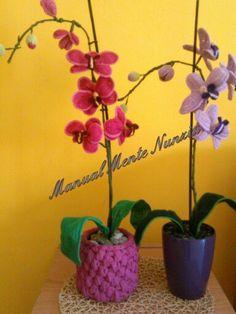 Qualunque cosa tu voglia dire...dilla con un orchidea handmade