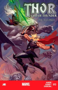 Thor: God of Thunder #13 cover (September 2013)