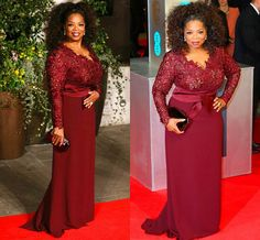 Cheap Prom Dresses, Buy Directly from China Suppliers:Plus Size Long Sleeve Prom Dresses 2015 Free Shipping Vestidos Longos Para Formatura Burgundy Prom DressPhotos Sho