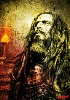 Rob Zombie by IAMREDVOX