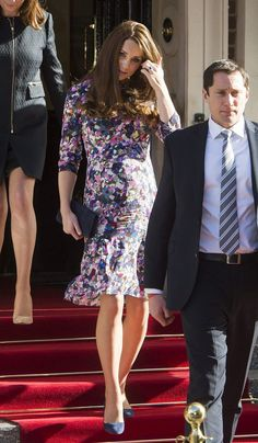 Kate attended the celebrations alone as William is touring China