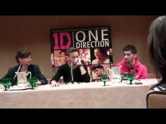 ▶ Meet & Greet with Zayn, Liam and Louis from One Direction - YouTube