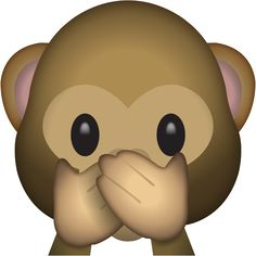 Download Speak No Evil Monkey Emoji