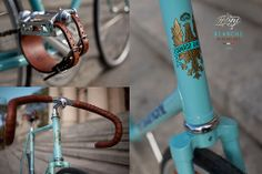 Fixed Gear Bike Bianchi Rekord