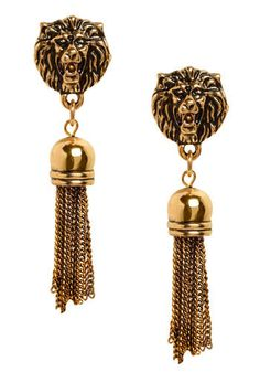 I Ain't Lion Earrings