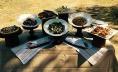 Fresh & Fabulous food at Mombo Bush brunch