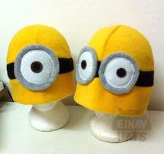 Despicable Me Minion inspired Hat by EinavIzack on Etsy, $22.00