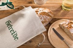 Leinen Brotsack individuell bedruckt 25x30 cm Napkins, Tableware, Linen Fabric, Brot, Gifts, Dinnerware, Towels, Dinner Napkins, Tablewares